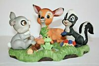 Vintage Marks and Rosenfeld Bambi & Friends Figurine Rare DISNEY