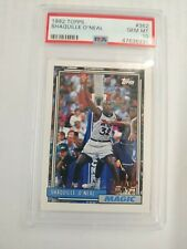 New listing 1992-93 topps shaquille o'neal psa 10