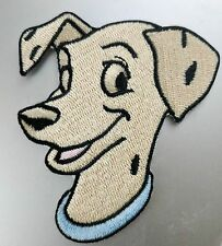 "Disney 101 Dalmatians Perdita Embroidered Iron On Patch 2 3/4"" x 3"" Licensed"