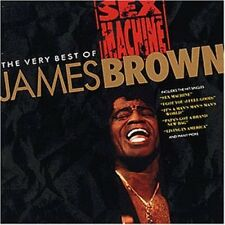 James Brown Sex machine-The very best of (20 tracks, 1991, Polydor) [CD]
