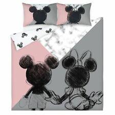 Disney MICKEY MOUSE Sketch  Reversible SINGLE /DOUBLE /KING Duvet Set or Cushion