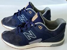 New Balance Men's 1550 Revlite Suede Shoes Navy Blue ML1550AK, Size 12