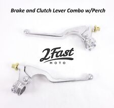 Clutch Brake Lever Set Combo with Perch Yamaha ATV Dirtbike Off Road 2FastMoto