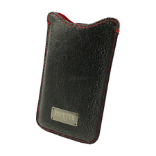 Pipetto - Luxury Leather Pull Up Case - iPhone 4 4s - iPod Touch - Hülle-black