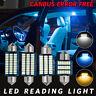 2/4PCS 31/36/39/42MM Car Festoon Interior Dome Reading Blub Canbus Error Free