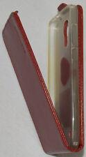 Cubot z100 Case Cover FlipCase PU-Leder Farbe Rot/Braun