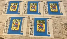 Lot Of 5  NHL TOPPS 1979-80 HOCKEY WAX PACK WRAPPER Wayne Gretzky Rookie Year