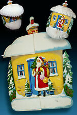 Old Santa Claus Honeycombs Weihnachtsdeko 50er > Ob Download - Advent Calendar