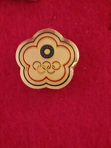 2004 Athens Olympics Chinese Taipei noc Olympic pin badge small domed