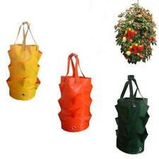 Garden Supplies Strawberry Planting Growing Bag Multi-mouth Container Bags Grow