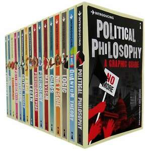 A Graphic Guide Introducing 16 Books Collection Set (Series 1 and Series 2) NEW