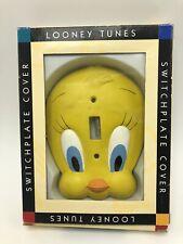 LOONEY TUNES TWEETY BIRD IRON ON large jumbo 1992 vintage rare Warner bros