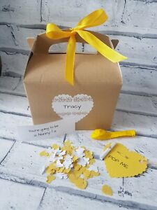 You're going to be an NANNY, pop the balloon, personalised gift, baby news