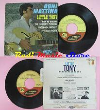 LP 45 7'' LITTLE TONY Ogni mattina Non mi rimane che chiederti perdono cd mc dvd