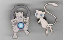 Pokemon New Mewtwo & Mew 2 Pin Set In-Hand Pin Collection Box Official Product