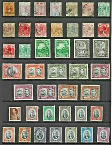 GRENADA Stamp COLLECTION Victoria to George VI Mint Used REF:QV839a