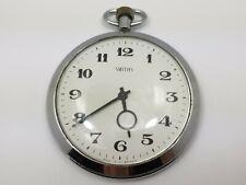 Vintage Smiths Big Time Pocket Watch, Vintage Mechanical Pocket Watch, Working