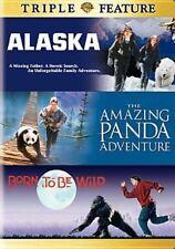 Born to Be Wild Alaska The Panda Adventure 2 Discs 2006 DVD CLR