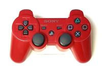 🔥 Genuine OEM Sony Playstation 3 PS3 SixAxis DualShock 3 Controller Gamepad RED