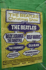 The Beatles... Poster...ca.48 x 37 cm...Christmas Show 1963 ( kopie )