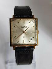 Invicta 21 joyas Vintage para hombres reloj mecánico en forma cuadrada