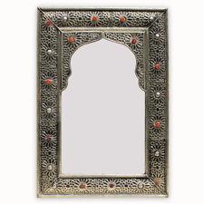 marocain orientale argenté miroir exotique fait à la main Marrakech 1m