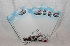 SOUTHWEST AIRLINES COCA-COLA NOTE PADS (4) OLD LIVERY COLORS