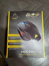 Corsair CH-9300011-NA M65 PRO RGB FPS Optical Gaming Mouse Black