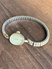 Vintage Omega 14K Gold Filled Ladies Watch Swiss Made Wind Up WORKS READ