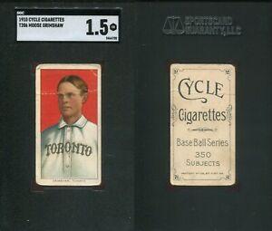 1909-1911 T206 Moose Grimshaw Toronto SGC 1.5 ***Cycle 350***