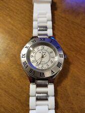 Vintage Geneva Roman/Arabic Ladies watch, running w/new battery installed M
