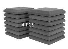 New Studio soundproof 4 PCS Acoustic Foam Charcoal Curved Studio Sponge 30*30CM