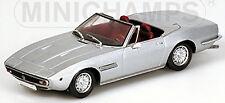 MASERATI GHIBLI SPYDER 1969-73 Argento Argento metallico argento 1:43 Minichamps