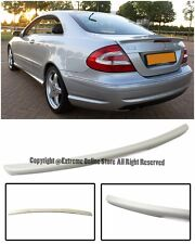 For 03-08 Mercedes Benz W209 CLK-Class AMG Style Rear Trunk Lid Lip Wing Spoiler