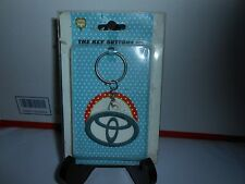 "RARE NOS JINHUA ""THE KEY BUTTONS UP"" TOYOTA KEYCHAIN AUTOMOTIVE ADVERTISING"