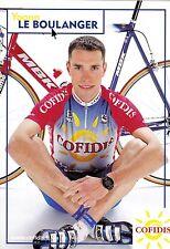 CYCLISME carte cycliste YOANN LE BOULANGER équipe COFIDIS 2001