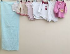 Baby Girls Bundle Of Clothing Newborn To One Month Next Mothercare Gap <D805