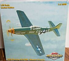 "GMP 1:35 Scale P51D Mustang ""Missouri Armada"" RARE 1 Of Only 1000 #44-14789 EUC"