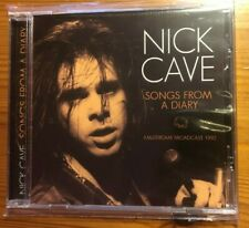 """NICK CAVE CD live """"Songs from a diary"""" Amsterdam Broadcast 1992, NEU,"""