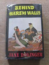 BEHIND HAREM WALLS by Jane Dolinger - 1st HCDJ 196 - Redman Marocco