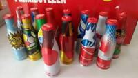2014 Coca Cola Miniature Aluminum Bottles
