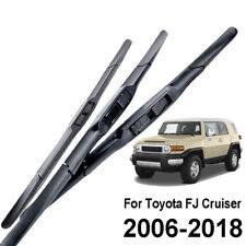 """FÜR Toyota FJ Cruiser 2006-2018 SCHEIBENWISCHER WISCHERBLÄTTER SET VORNE 14""""16"""""""