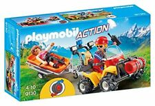 Playmobil Action 9130 - Quad rescate de montaña. De 4 a 10 años