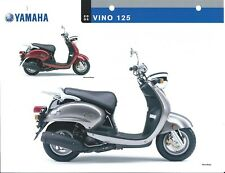 Scooter Data Sheet - Yamaha - Vino 125 - 2005 (DC517)