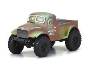 Pro-Line Axial SCX24 1946 Dodge Power Wagon Body (Clear) [PRO3565-00]