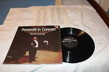 Pavarotti LP with Lyric Sheet-PAVAROTTI IN CONCERT STEREO