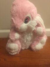 Dan dee Pink Easter Bunny Rabbit 14� Plush Stuffed Animal Toy. 2015. Free s/h