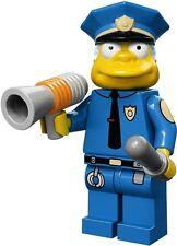 Lego Minifigures 71005 SIMPSONS JEFE WIGGUM a estrenar en paquete sellado de fábrica