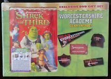 Shrek The Third Best Buy Exclusive Dvd Set Worcestershire Gear Sealed Nib