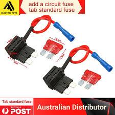 2 x Add a Circuit ACU Piggy Back Tap Standard Blade Fuse Holder 5A AU Local
